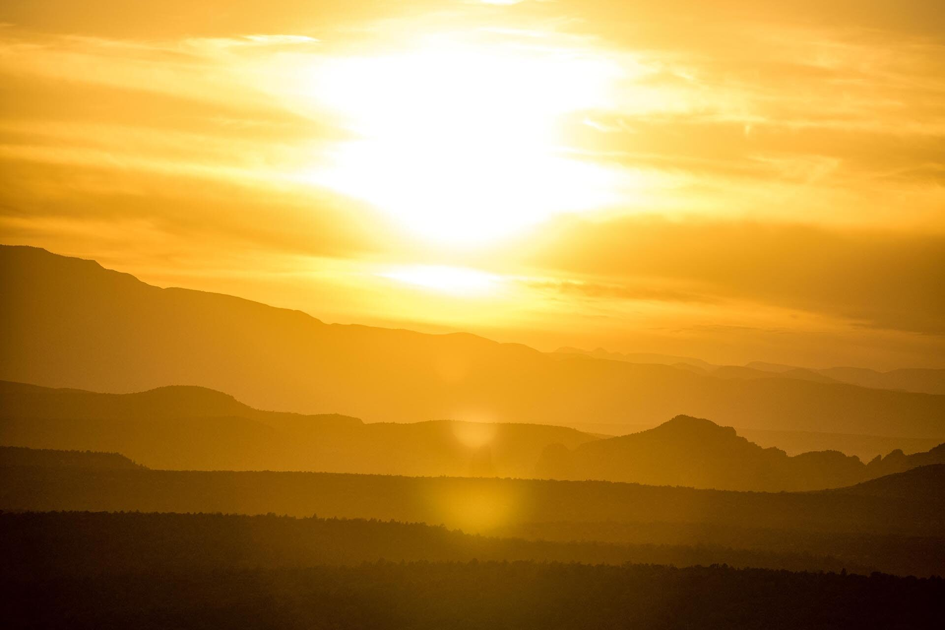 image of a sunny landscape for a blog about how to maximize your cooling system