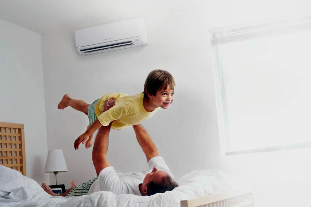 Ductless systems home comfort