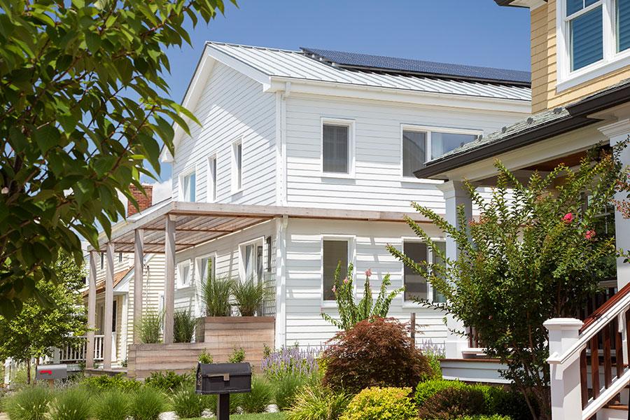 House solar pannels