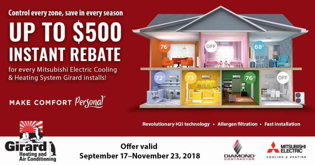 Fall 2018 Mitsubishi Rebate